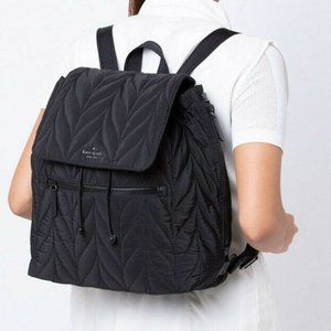 KATE SPADE Ellie Large Flap Quilted Backpack